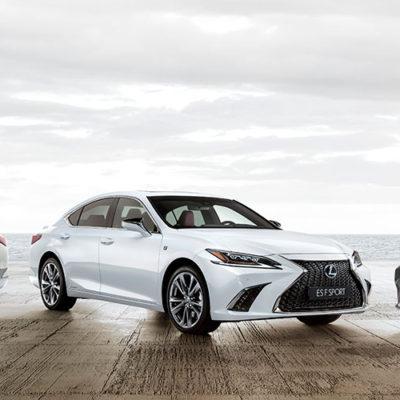 Nuova Lexus ES, la ricercatezza dei Samurai