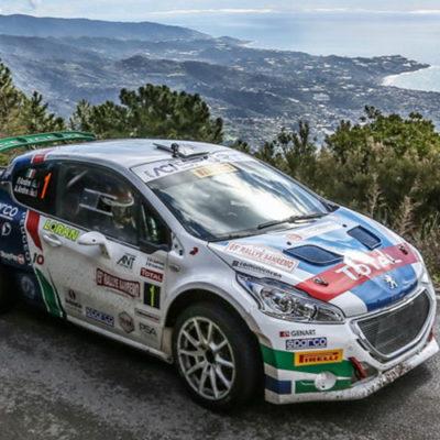 CIR: al Rally di Sanremo è doppietta di Andreucci