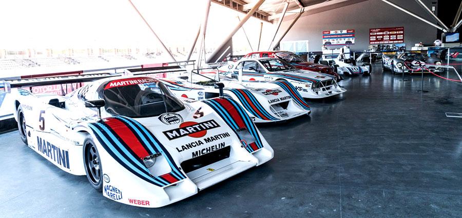La parata dei bolidi della Scuderia Martini Racing (ActualFoto)
