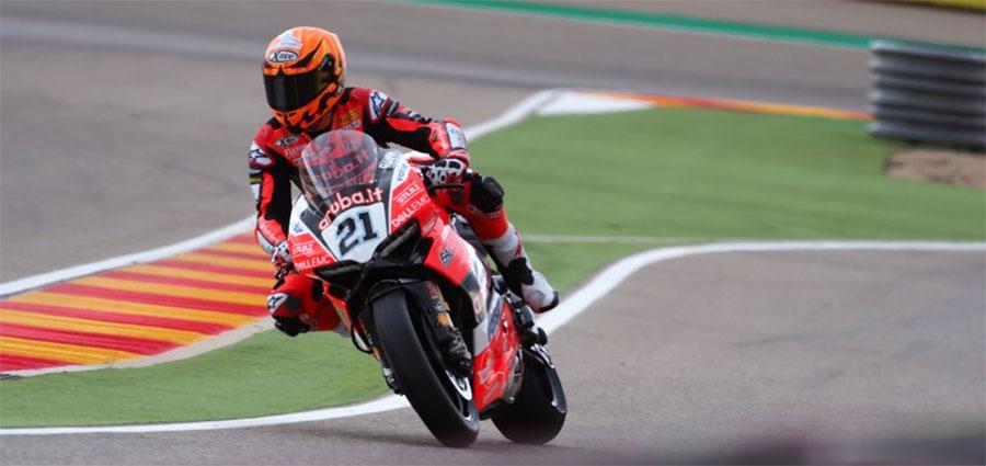 """Ottimo esordio del team ufficiale Ducati """"Junior"""" con Michael Ruben Rinaldi"""