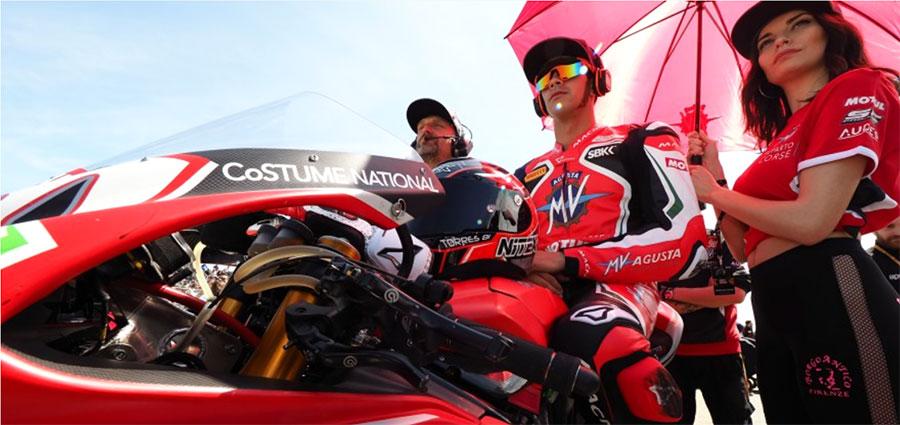 Con l'ottavo posto in gara 2 si riscatta Jordi Torres dopo il crash del Sabato