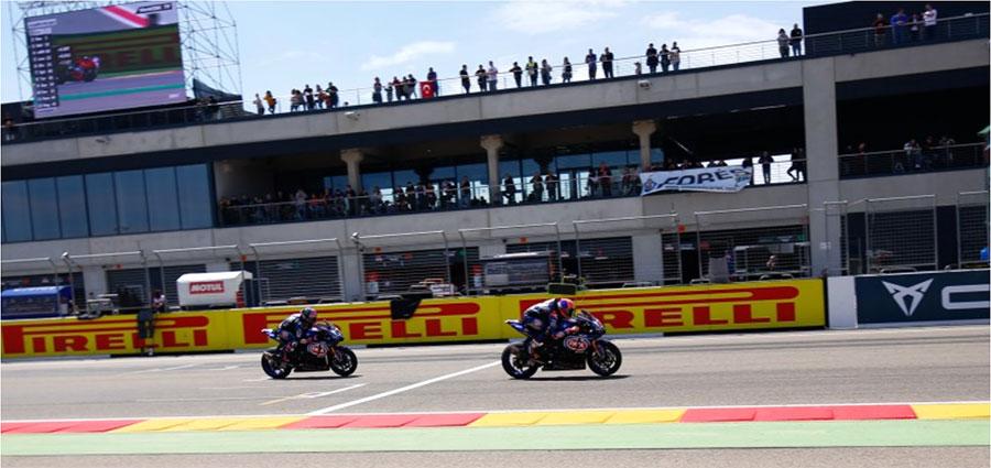 In gara 2 le Yamaha ufficiali chiudono ai piedi del podio con Lowes quarto davanti a Van Der Mark
