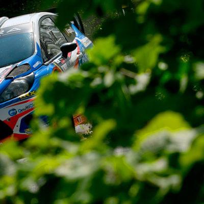 Rally Mille Miglia, alla prima dell'Italiano WRC domina Albertini