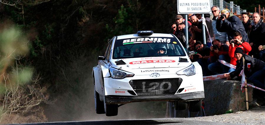 Andrea Nucita e Giuseppe Vozzo con la Hyundai i20 rimangono ai piedi del podio