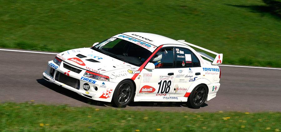 Rudi Bicciato (Mitsubishi Lancer)