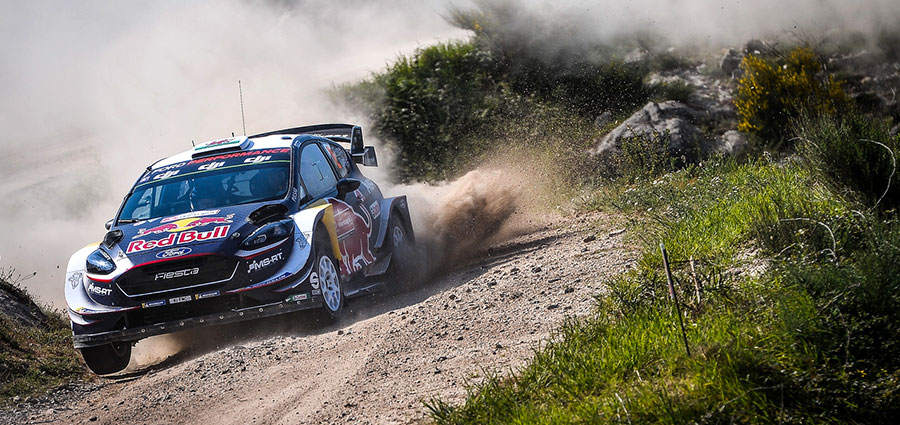 Piazza d'onore per Elfyn Evans e Daniel Barritt con la Ford Fiesta WRC