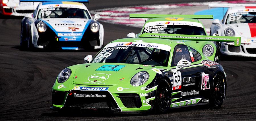 Niccolò Mercatali incassa il successo il gara 1 nella Michelin Cup