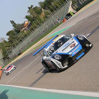Porsche Carrera Cup, Mosca e Rovera alla prima di Imola