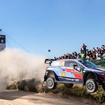 WRC, colpo grosso di Neuville al Rally del Portogallo