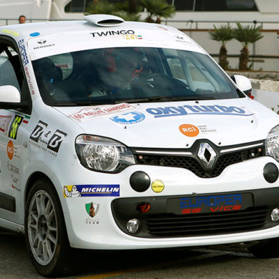 Trofei Renault: al Rally di Sanremo in evidenza Paris e Canzian