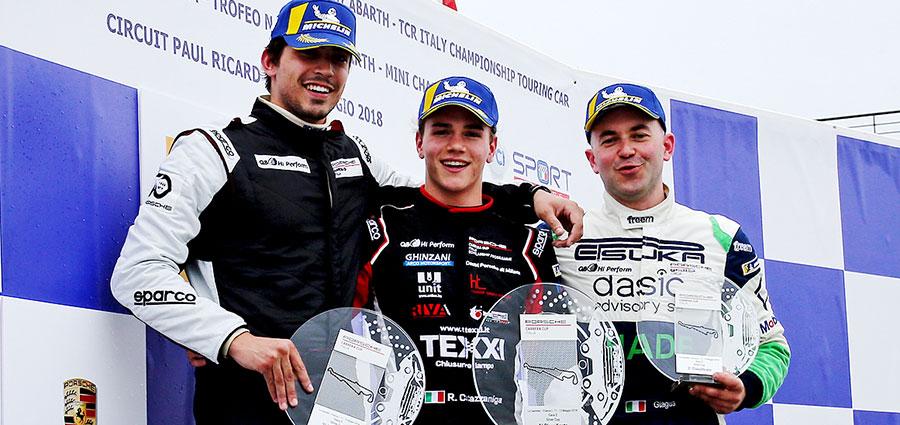 Il podio della Silver Cup in gara 2