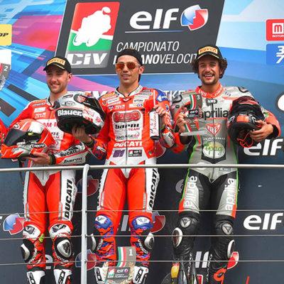ELF CIV, Pirro straccia tutti in SBK e Rossi esulta in Moto3