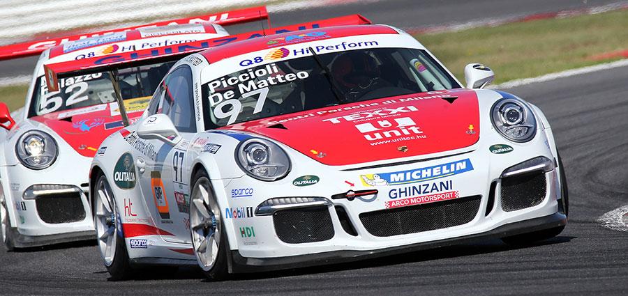 Successo tra le vetture Silver Cup in gara 2 per Alfredo De Matteo