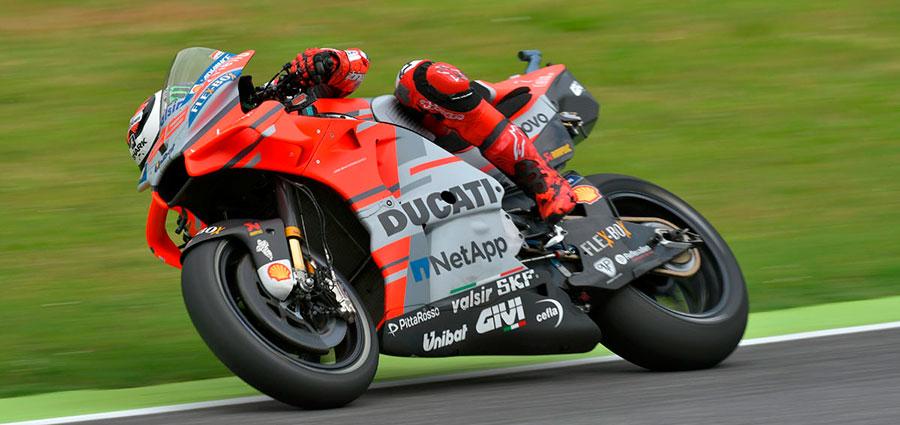 Jorge Lorenzo sul Circuito del Mugello torna finalmente alla vittoria nella MotoGP (Foto Cavalleri-Betti)