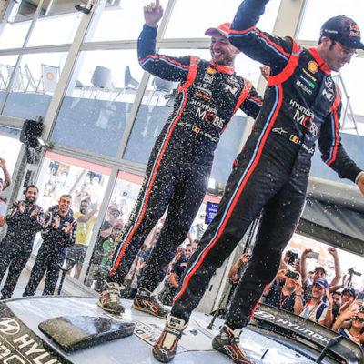 WRC, vittoria di Neuville al Rally Italia Sardegna