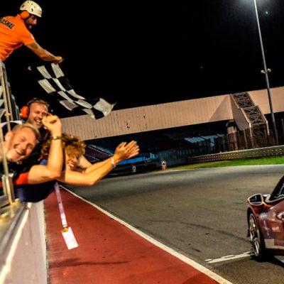 Ferrari Challenge Europa, a Misano spettacolo by night