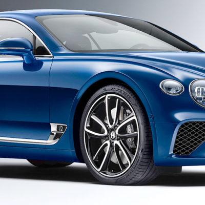 Nuova Bentley Continental GT protagonista al Parco Valentino