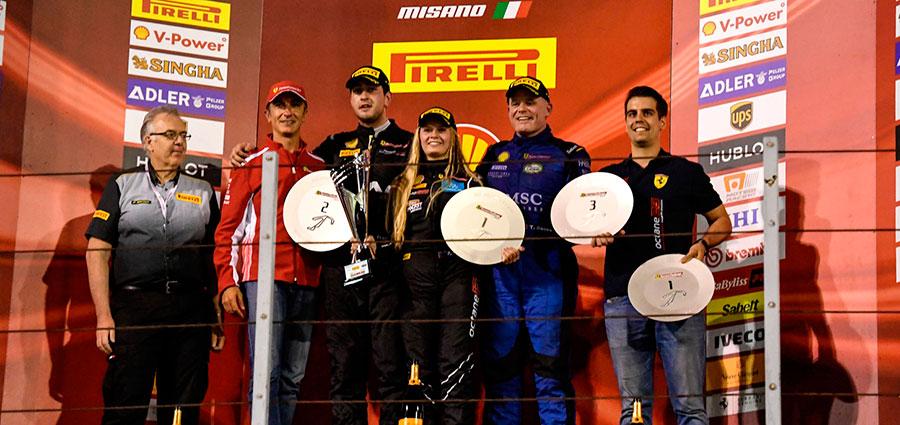 Negli AM del Trofeo Pirelli spicca la costante femminile rappresentata da Fabienne Wohlwend