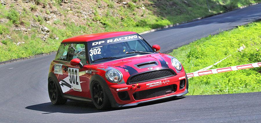 Antonio Scappa svetta nella Racing Start con la Mini Cooper S John Cooper Works RSTB 1.6 (Foto Claudio Ricciotti)