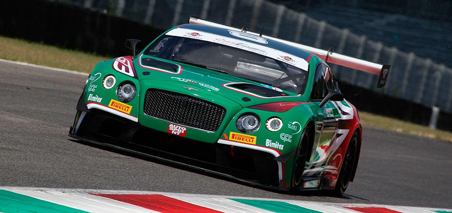 Petri Corse schiera per la prima volta in un Campionato Italiano GT una Bentley Continental affidata a Nicola Larini e Alex Caffi
