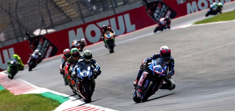 Soddisfazioni arrivano dalla Wild Card Lorenzo Gabellini che con la Yamaha YZF R6  di G.A.S. termina ottavo