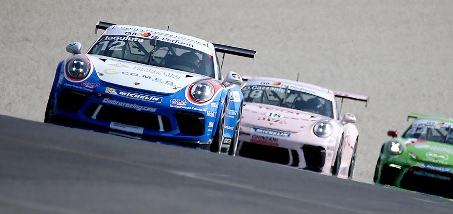 Simone Iaquinta si aggiudica gara 1 della Porsche Carrera Cup Italia