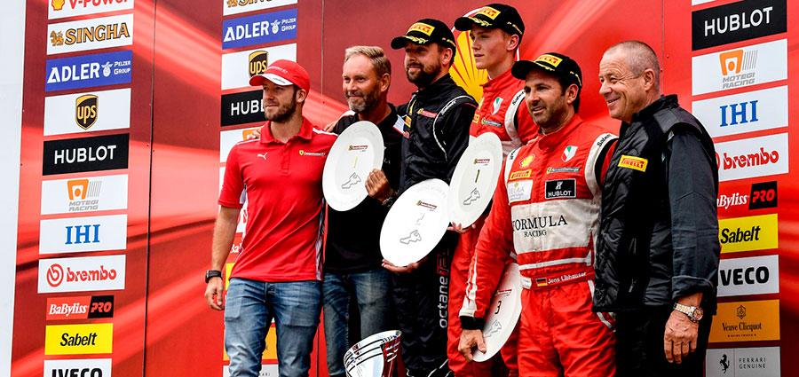 Trofeo Pirelli podio di gara 2