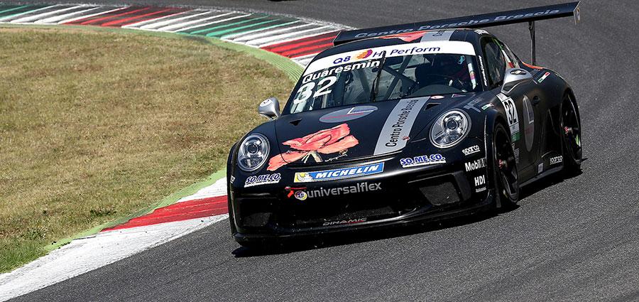 Gianmarco Quaresmini vince gara 2 davanti a Malucelli e Iaquinta