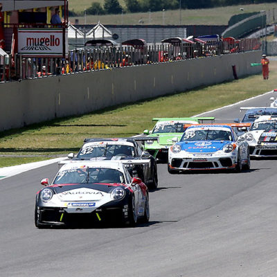 Porsche Carrera Cup, dopo la paura finalmente Iaquinta