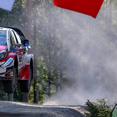 WRC, al Neste Rally Finland è il giorno di Yaris e Tanak