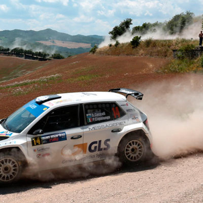 CIR, al Rally San Marino trionfa Ceccoli, Andreucci ko