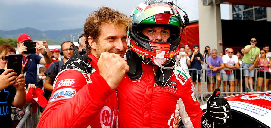Tornano alla vittoria, dopo Imola, Giancarlo Fisichella e Stefano Gai