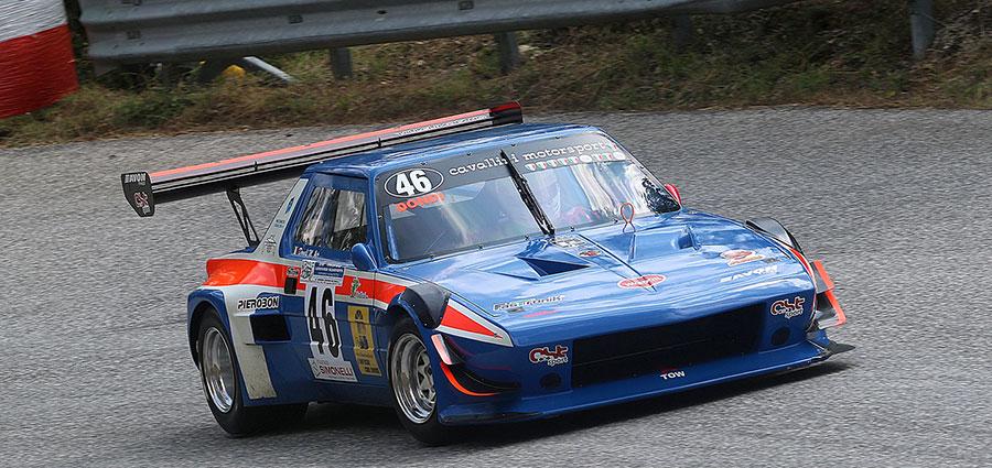 Manuel Dondi è decimo assoluto e vincitore della E2 Silhouette Oltre 3000 (Foto Claudio Ricciotti)