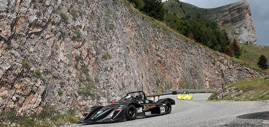 Ivan Pezzolla con la Osella Pa21 Junior E2 SC 1000 ottiene un bel settimo posto (Foto Claudio Ricciotti)