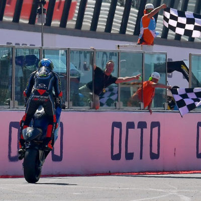 Moto2: svetta Bagnaia, squalificato Fenati