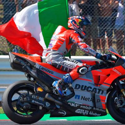 MotoGP, a Misano festa in Rosso con Dovizioso