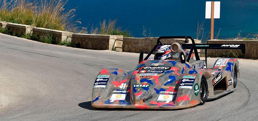 Gran bel sesto posto per Achille Lombardi che con la Osella Pa21 JrB