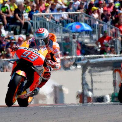 MotoGP, ad Aragon gli applausi sono per Marquez