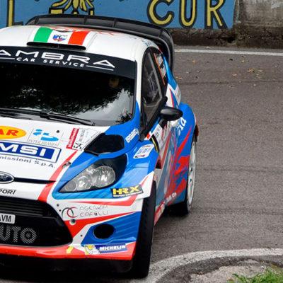 Al Rally del Friuli splende la stella di Albertini
