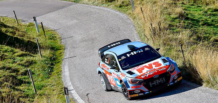 Pedro e Baldaccini dopo tanta sfortuna riescono a terminare una gara con la Hyundai i20 WRC