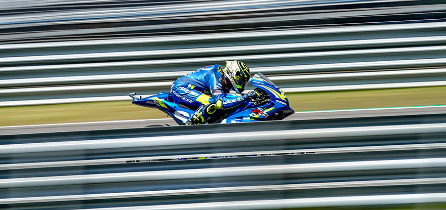 A ridosso della Top Ten chiude Andrea Iannone con l'altra Suzuki