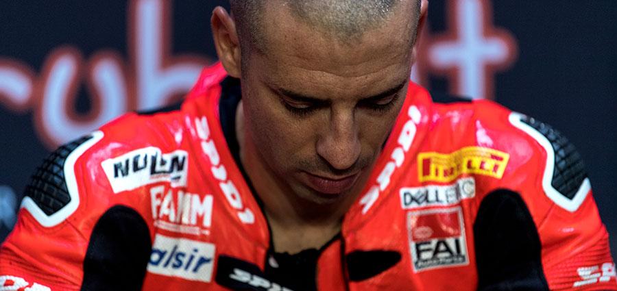 Marco Melandri lascia Ducati con il quinto posto in Campionato