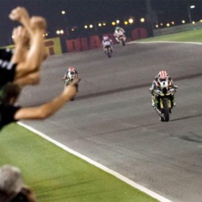 WSBK, in Qatar Jonathan Rea corsaro a metà
