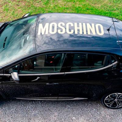 Renault Clio Moschino: irriverente, intrigante, glamour