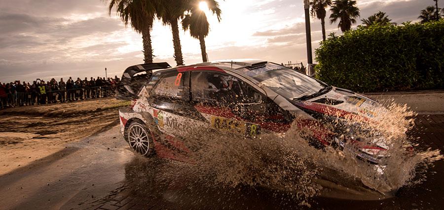 Ott Tanak con la Toyota Yaris WRC non va oltre il sesto posto