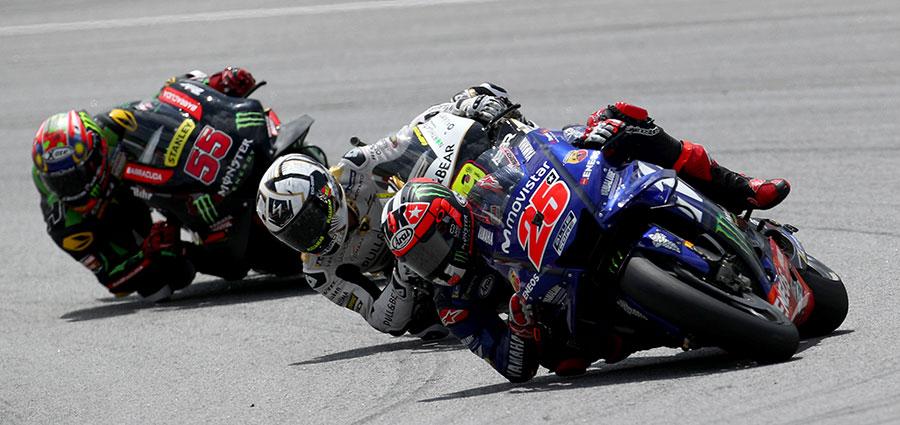 Maverick Vinales salva l'onore Yamaha con il quarto posto