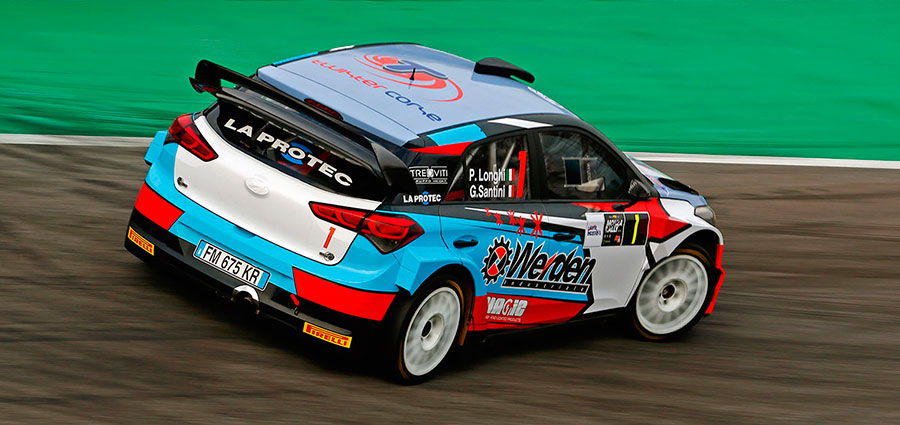 Non ha perso lo smalto dei vecchi tempi Piero Longhi, settimo assoluto (Monza Eni Circuit/Colnago)