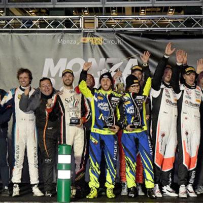 Monza Rally Show, platea tutta per Rossi e Cairoli