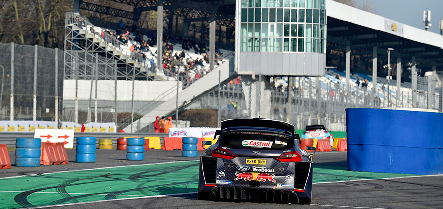 Piazza d'onore per Teemu Suninen, reduce da un'impegnativa stagione Mondiale (Monza Eni Circuit/Bettiol)