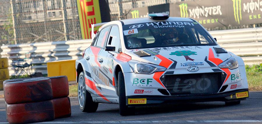 Pistaioli prestati ai rally, ecco Giorgio Venica (Monza Eni Circuit/Beretta)